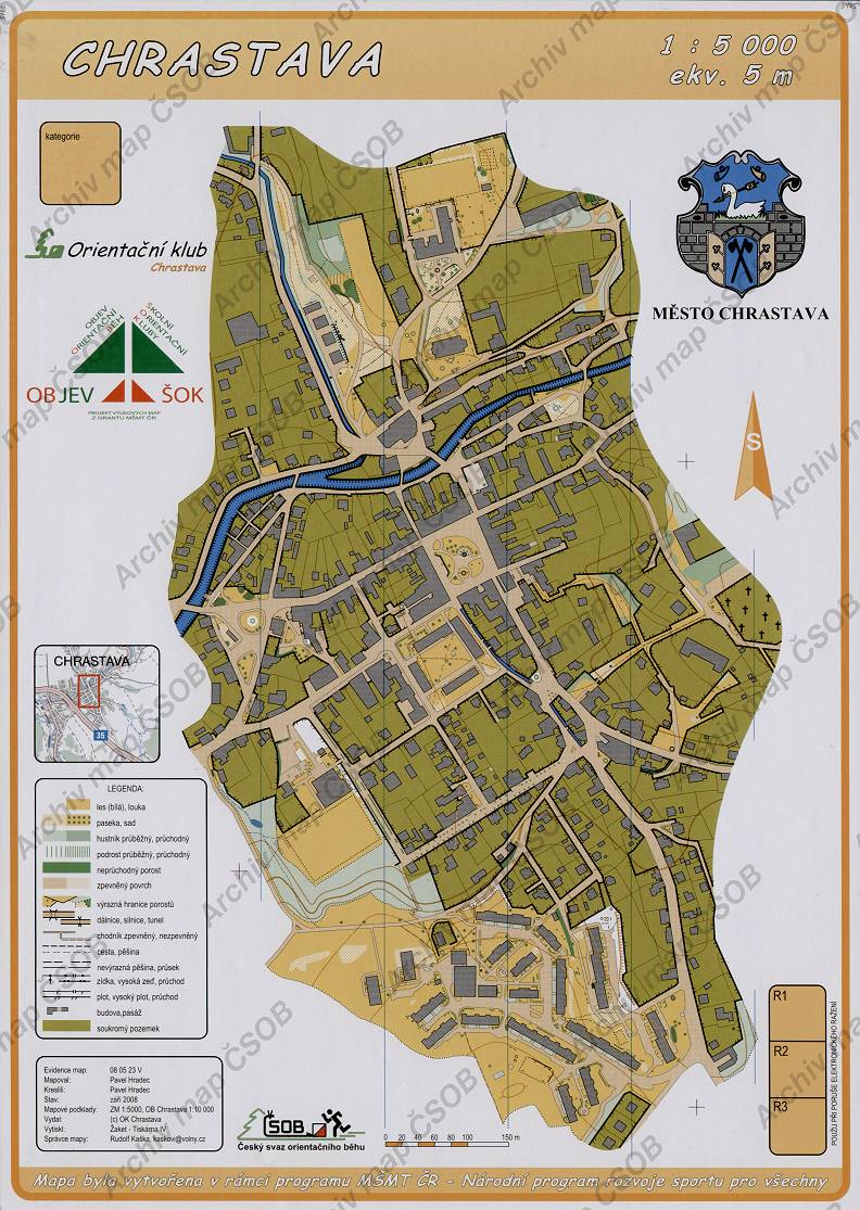 Czech Orienteering Federation Map Portal