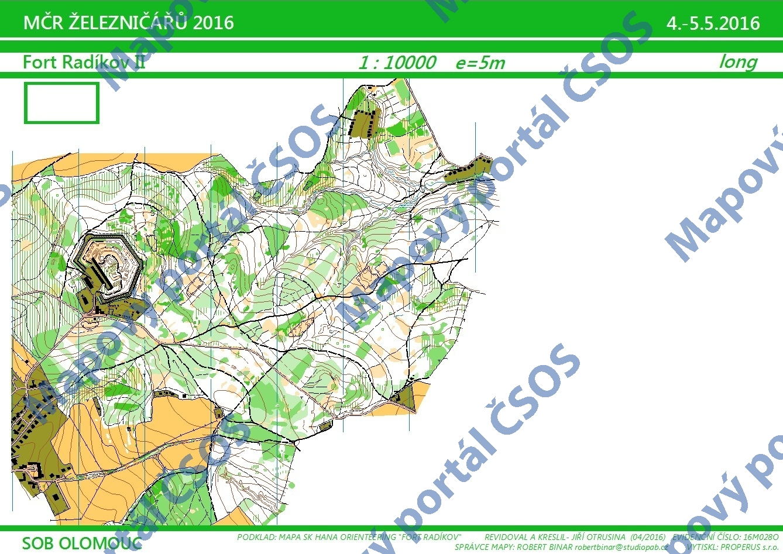 Czech Orienteering Federation Map Portal